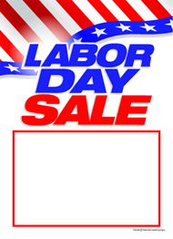 Labor Day Poster, Banners, Tags