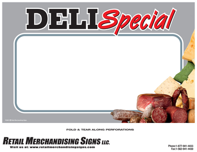 New Deli Special Laser Tags