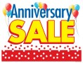 Horizontal Poster 50 inch x 38 inch Anniversary Sale