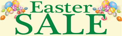 Retail Sale Banners Easter Sale (eggs)