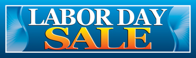 Retail Sale Banners Labor Day Sale
