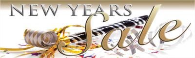 seasonal sale banners 4x 20 new year sale horn