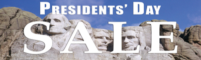 Holiday Sale Banners Presidents Day Sale