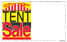 Price Cards/Sign Cards Tent Sale