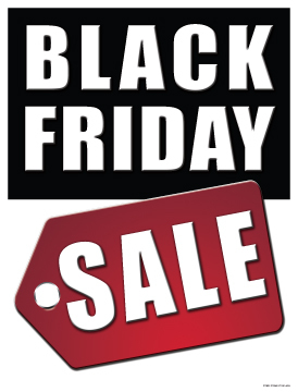 Sale Signs Posters Black Friday Sale