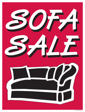furniture sale sign. Furniture Sale Signs Posters Sofa Sign