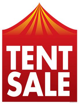 Retail Sale Signs Posters Tent Sale  sc 1 st  Retail Merchandising Signs.com & Retail Sale Signs Posters 22