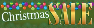 Retail Sale Banners Christmas Sale