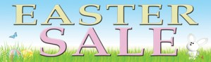 Retail Sale Banners Easter Sale (bunny)