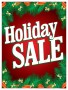 Christmas Sale Signs Posters Holiday Sale holly