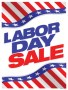 Patriotic Sale Signs Posters Labor Day Sale Flag