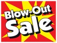 Horizontal Poster Blow Out Sale