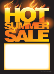 Hot Summer Sale Tags