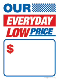 Slotted Sale Tags 5 X 7 Our Everyday Low Price