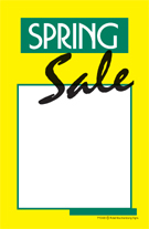 Seasonal Elastic String Tag Spring Sale