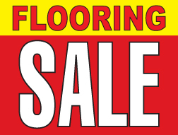 "18"" x 24"" Lawn Sign  Flooring Sale"