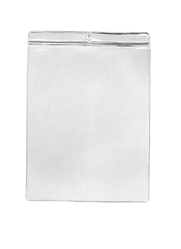 Vinyl Envelope Tag Pockets 5in x 7in (V) 50 pack